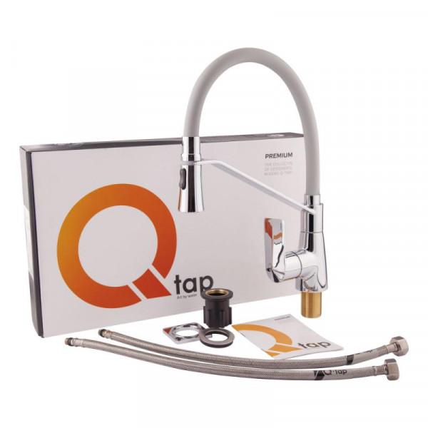 Смеситель для кухонной мойки Qtap Estet CRG 007F