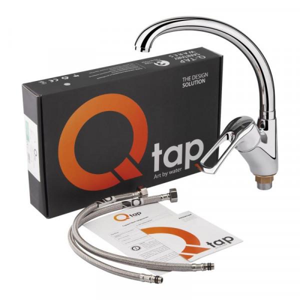 Смеситель для кухни Qtap Hansberg CRM 007F