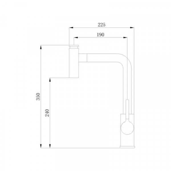 Смеситель для кухни Qtap Inspai CRM 013F