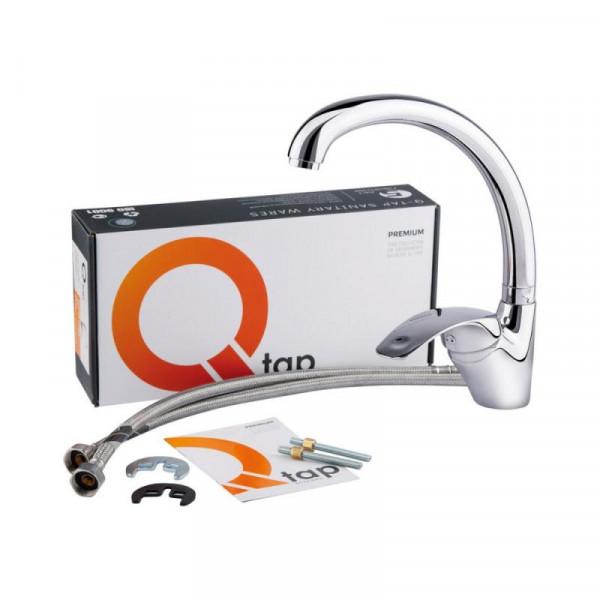 Смеситель для кухни Qtap Mars СRM 007
