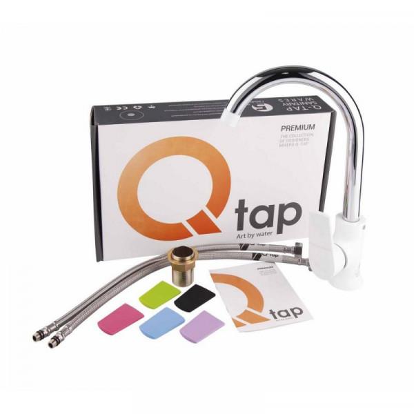 Смеситель для кухни Qtap Polaris WHI 007F