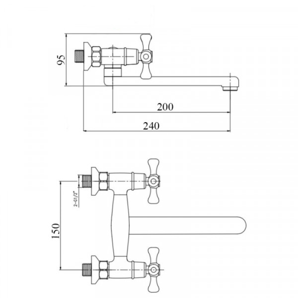 Смеситель для кухни Touch-Z Smes 361