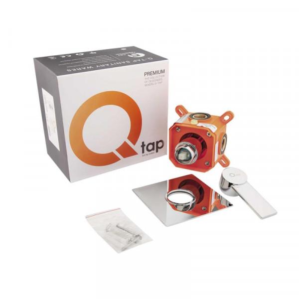 Смеситель для душа Qtap Form CRM 001AB SQ