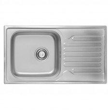 Кухонная мойка ULA 7204 Satin (ULA7204SAT08)
