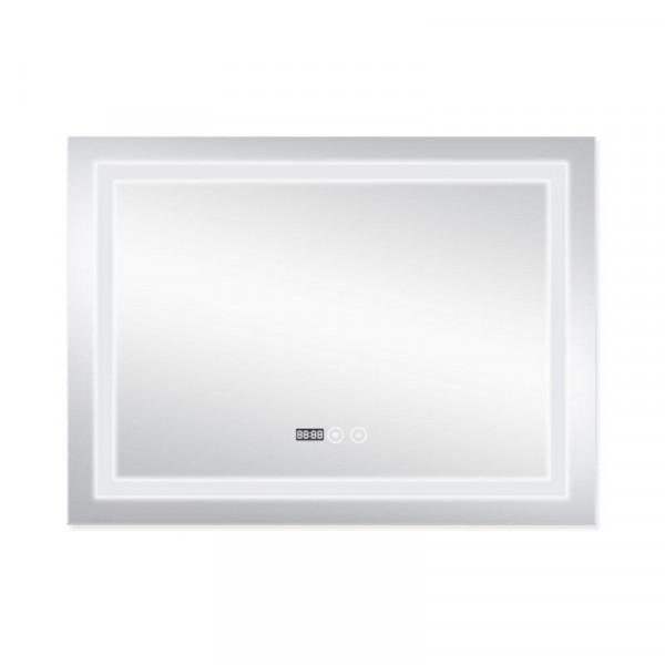 Зеркало с подсветкой и антизапотеванием Qtap Mideya LED DC-F904 800*600