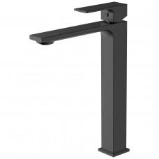 Высокий смеситель для раковины, черный Volle De la Noche 10-40-1200-black