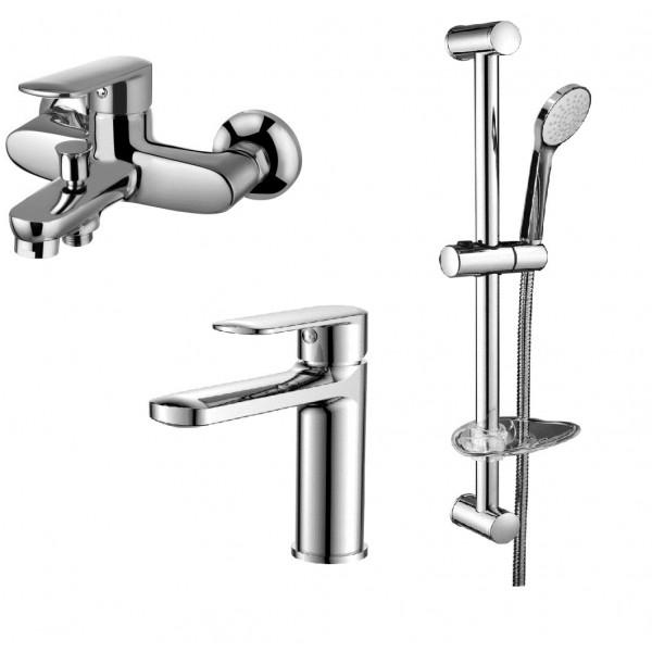 Набор смесителей для ванны 3 в 1 Volle Fiesta 1515112161