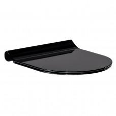 Сиденье для унитаза твердое Slim slow-closing Volle Black Amadeus 13-06-035 BLACK