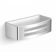 Настенная душевая полочка, с пластиковой вставкой White Volle Teo 15-88-755W