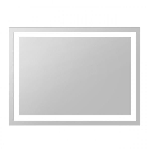 Зеркало прямоугольное 60*80см со светодиодной подсветкой, с кнопочным выключателем Volle 16-60-580