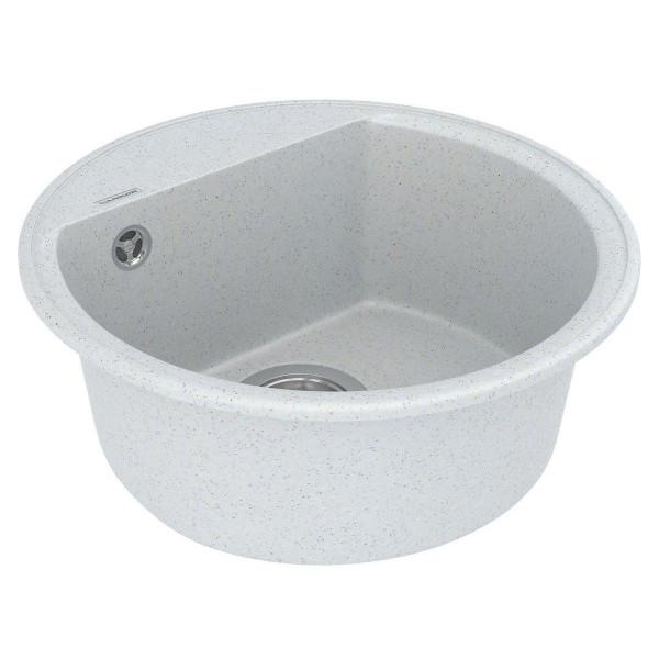 Кухонная мойка из кварцевого камня круглая Vankor Easy EMR 01.45 Sahara