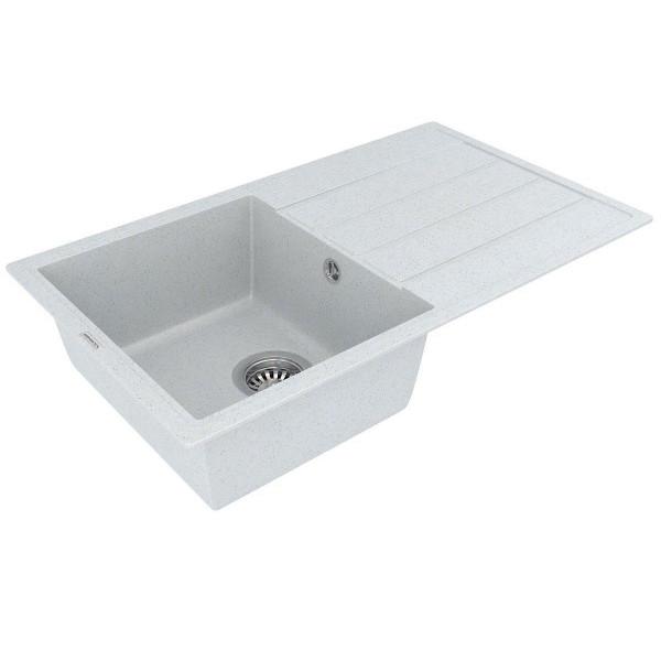 Кухонная мойка из кварцевого камня прямоугольная Vankor Easy EMP 02.76 Sahara