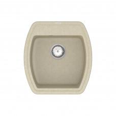 Кухонная мойка из кварцевого камня квадратная Vankor Norton NMP 01.48 Beige