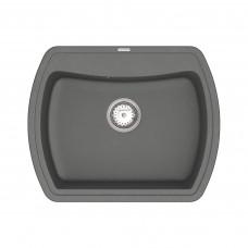 Кухонная мойка из кварцевого камня прямоугольная Vankor Norton NMP 01.63 Gray