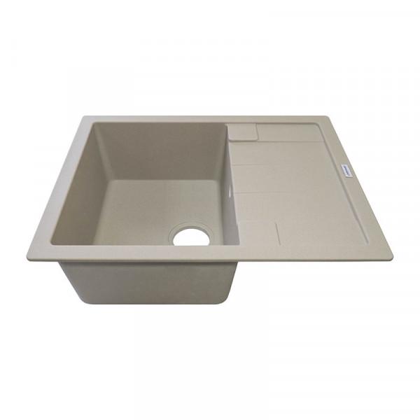 Кухонная мойка гранитная Adamant ANILA 650х500х201 02 сахара