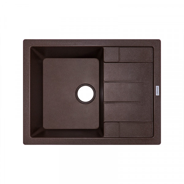 Кухонная мойка гранитная Adamant ANILA 650х500х204 05 коричневый