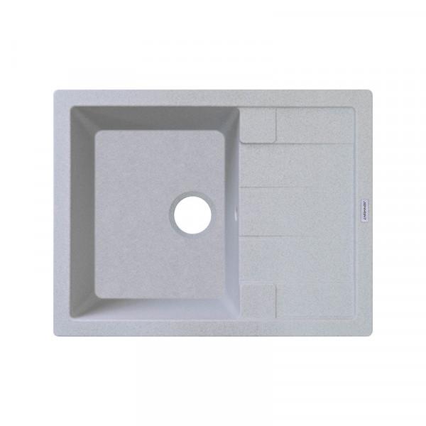 Кухонная мойка гранитная Adamant ANILA 650х500х208 09 светло-серый
