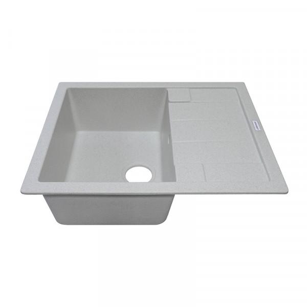 Кухонная мойка гранитная Adamant ANILA 650х500х209 10 старый камень