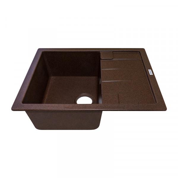 Кухонная мойка гранитная Adamant ANILA 650х500х211 12 мокко