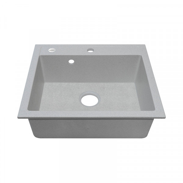 Кухонная мойка гранитная Adamant PRIZMA 590х500х209 10 старый камень
