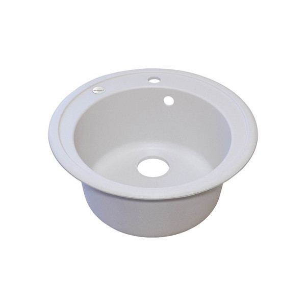Кухонная мойка гранитная Adamant SUN 510х200 01 белый
