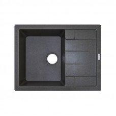 Кухонная мойка гранитная Adamant ANILA 650х500х203 04 серый