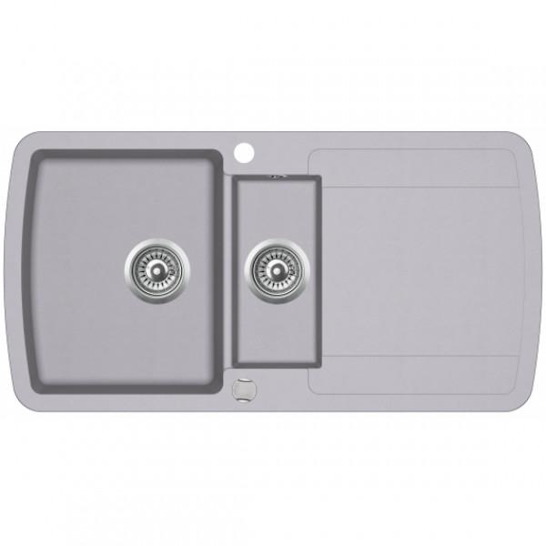 Кухонная мойка гранитная AquaSanita Lira SQL-151AW-202