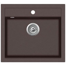 Кухонная мойка гранитная AquaSanita Quadro SQQ-100-120