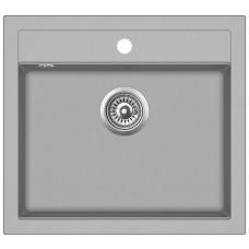 Кухонная мойка гранитная AquaSanita Quadro SQQ-100-220