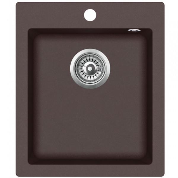 Кухонная мойка гранитная AquaSanita Simplex SQS-100W-120