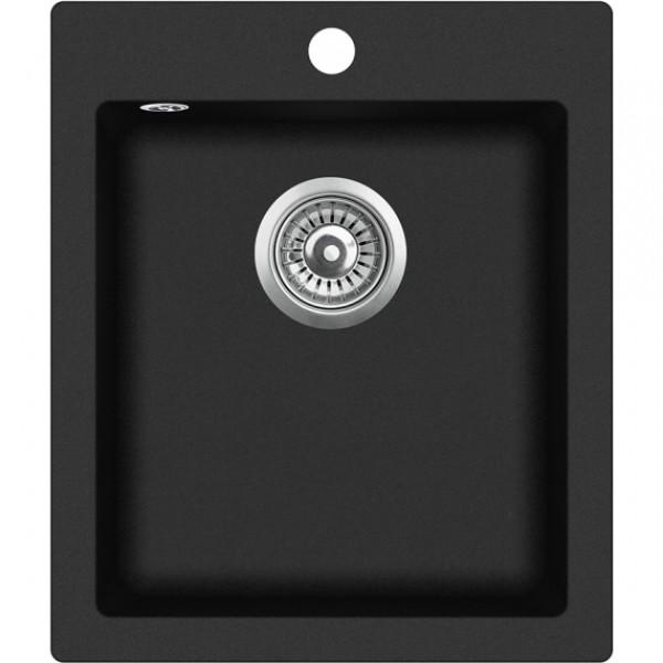 Кухонная мойка гранитная AquaSanita Simplex SQS-100W-601