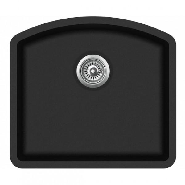 Мойка для кухни гранитная Aquasanita Arca SQA-103W-601