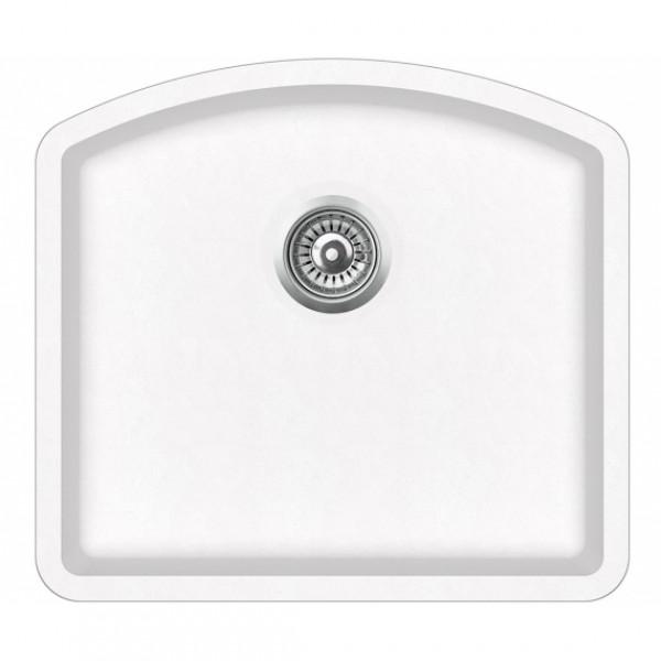 Мойка для кухни гранитная Aquasanita Arca SQA-103W-710