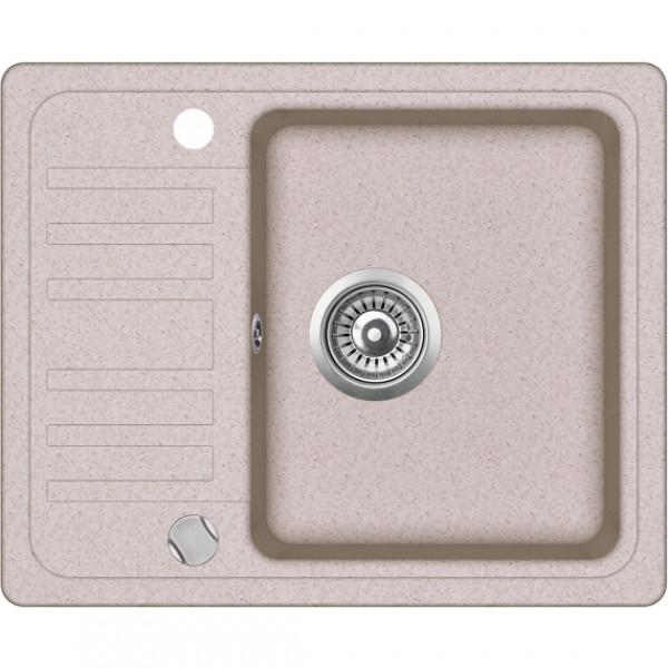 Мойка для кухни гранитная Aquasanita Notus SQ-102AW-112