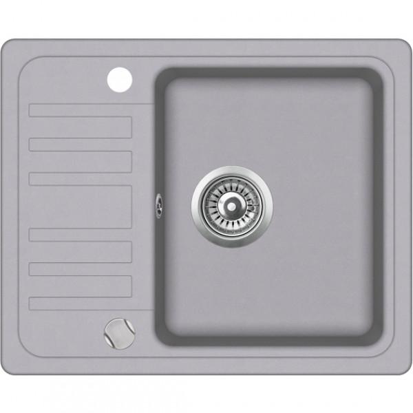 Мойка для кухни гранитная Aquasanita Notus SQ-102AW-202