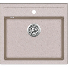 Мойка для кухни гранитная Aquasanita Quadro SQQ-100W-110