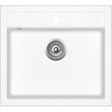 Мойка для кухни гранитная Aquasanita Quadro SQQ-100W-710