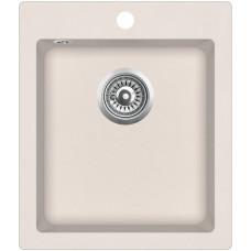 Мойка для кухни гранитная Aquasanita Simplex SQS-100W-111