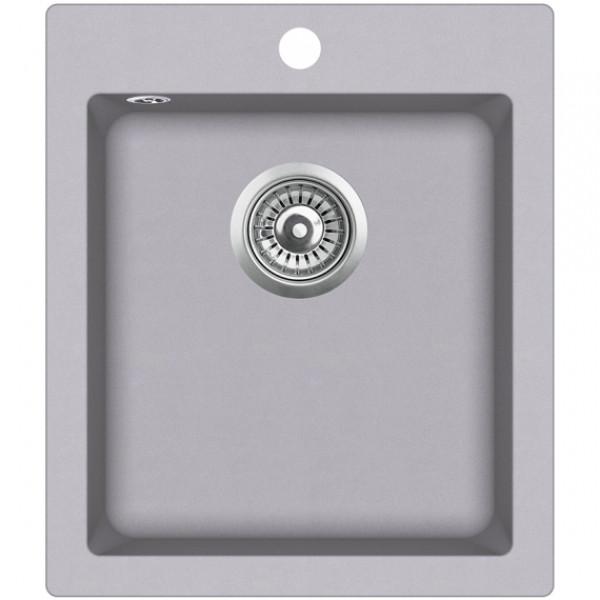 Мойка для кухни гранитная Aquasanita Simplex SQS-100W-202