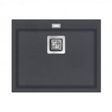 Мойка для кухни гранитная графит AquaSanita DELICIA SQD-100-222