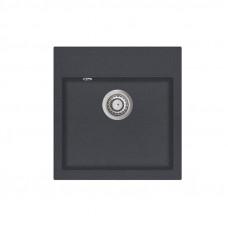 Мойка для кухни гранитная графит AquaSanita TESA SQT-100-222