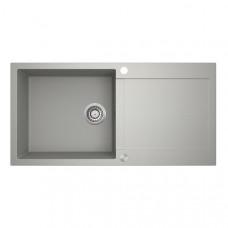 Мойка для кухни гранитная серая AquaSanita TESA SQT-103-220