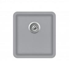 Мойка для кухни гранитная светло-серая AquaSanita ARCA SQA-101-221
