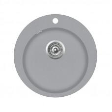 Мойка для кухни гранитная светло-серая AquaSanita CLARUS SR-100-221