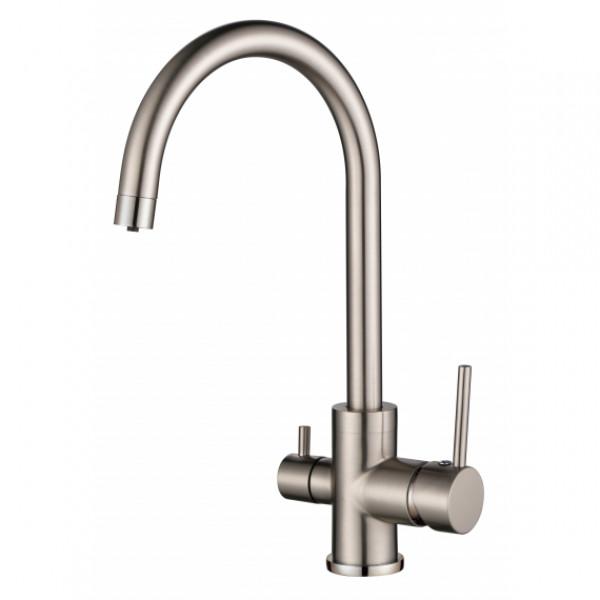 Смеситель для кухни и питьевой воды AquaSanita Sabiaduo 2963-002