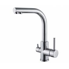 Смеситель для кухни на две воды Aquasanita Akvaduo 2663-001