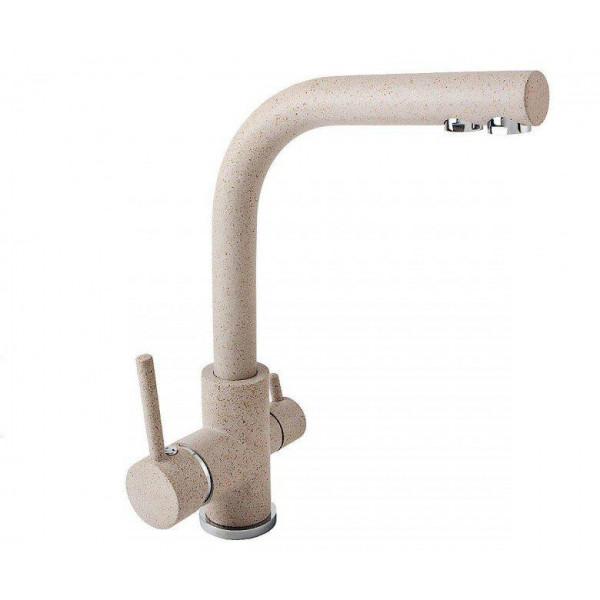 Смеситель для кухни на две воды Aquasanita Akvaduo 2663-110