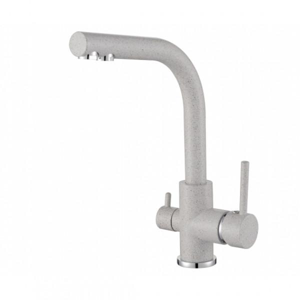 Смеситель для кухни на две воды Aquasanita Akvaduo 2663-112