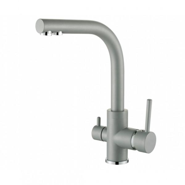 Смеситель для кухни на две воды Aquasanita Akvaduo 2663-202