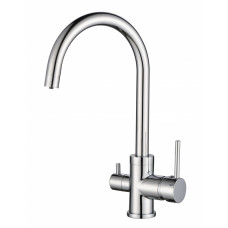 Смеситель для кухни на две воды Aquasanita Sabiaduo 2963-001